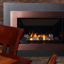Cozy up to our inviting fireplace