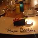 Birthday Dessert - Celebrate your birthday with us and your dessert is on the house!